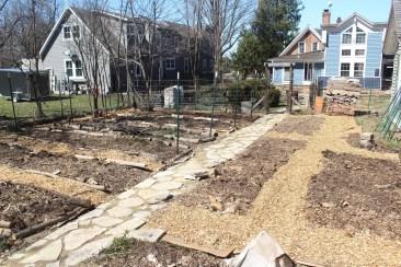 Garden plots.