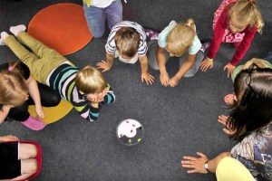 Young children at Playgroup
