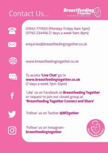 Breastfeeding Together meet at Treetops in Golborne every Tuesday