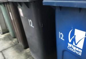 Wigan Council bins