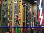 Climbing wall, BMX & Skateboard park & adventure play