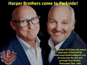 Harper Brothers at Golborne Parkside