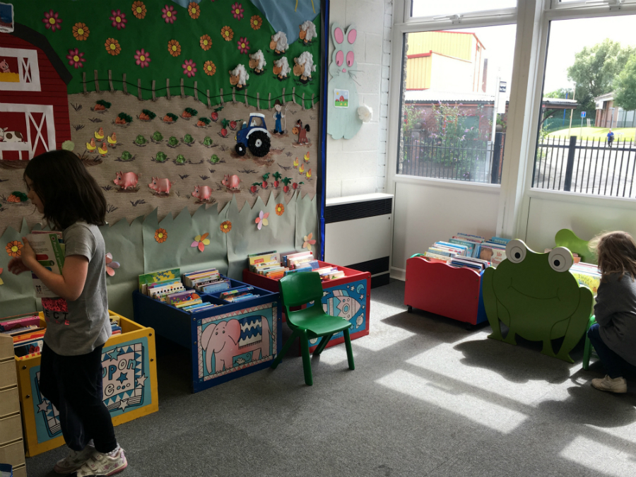 Children's Library at Golborne Library