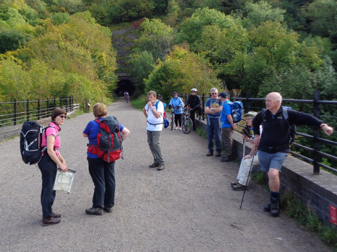 Wigan Rambling and Climbing Club on a recent walk