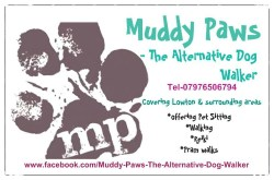 Muddy Paws dog walker services