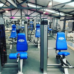 Inside Chalk and Steel Gym in Lowton