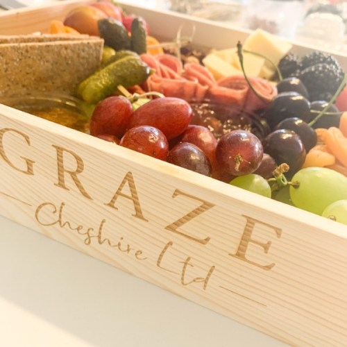 A typical Graze Cheshire box