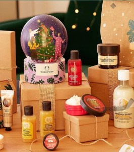 Body Shop Christmas gifts