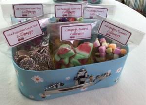 Retro sweets from Lollipoppy