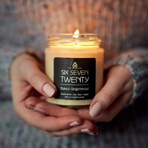 Soy candle by Six Seven Twenty