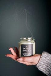 Soy candle by Six Seven Twenty in Golborne