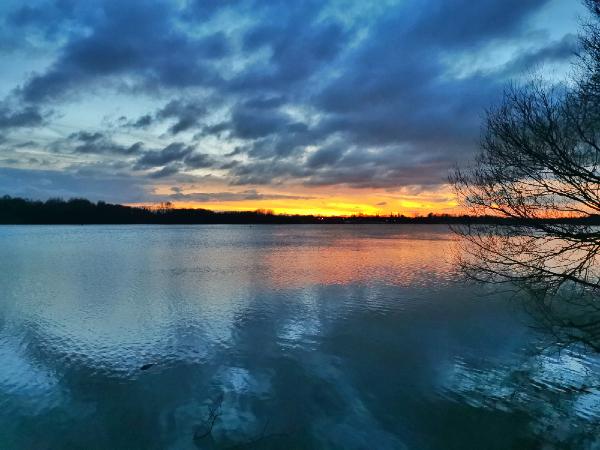 Anna Melia's photo of sunset at Pennington Flash