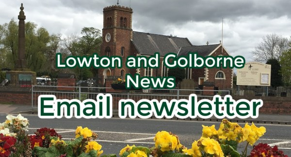 Lowton and Golborne email newsletter
