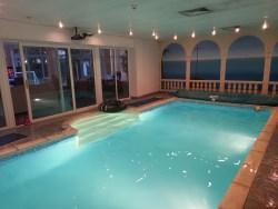 The swimming pool at Swim at 55 in Golborne