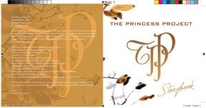 The Princess Project, cd dvd artwork, presentatiemateriaal