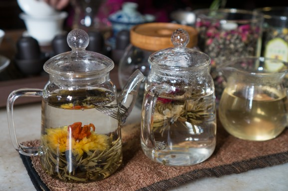 Blooming Tea in Yuyuan Garden