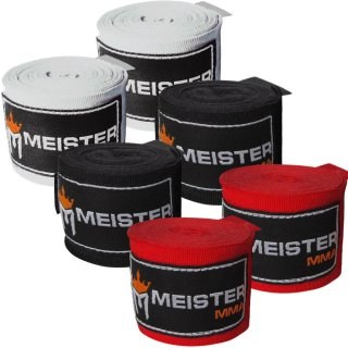 """Meister 180"""" Hand Wraps for Boxing and MMA"""