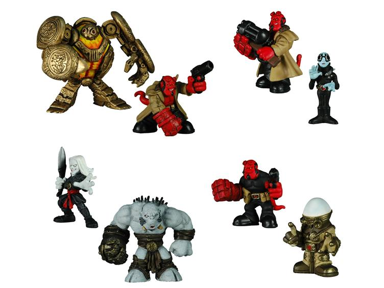 Hell-Boy Miniature Toy Action Figures! Toys For Kids, Or