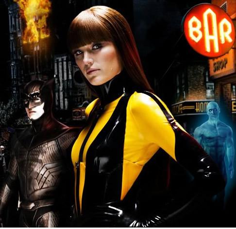 Silk Spectre II (Malin Akerman) Of Watchmen is full of ... Watchmen Characters Silk Spectre