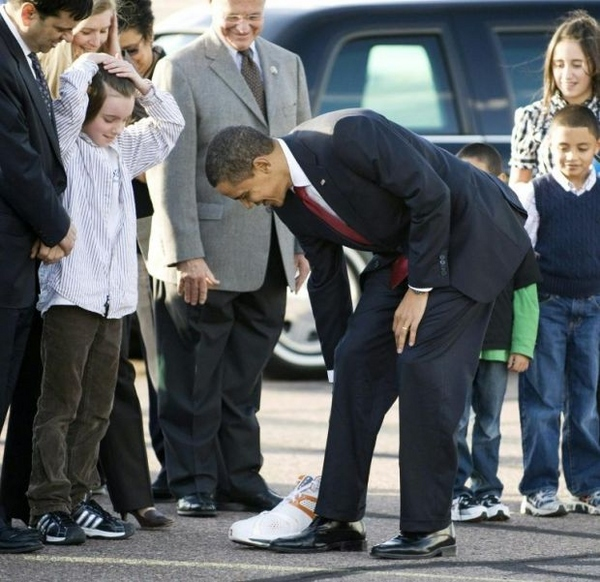 Baller-in-Chief knows that the size of the doesnt matter (photo courtesy of Reuters)