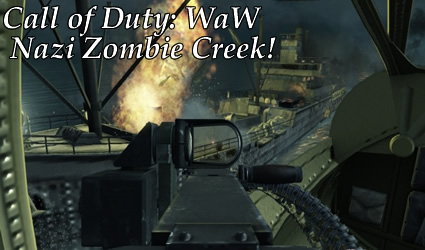 Call of duty waw zombie map nazi zombie creek no where to hide took a while but it seems like a new call of duty world at war map has finally been released thanks to tyger map creator we can now kill zombies at the gumiabroncs Images