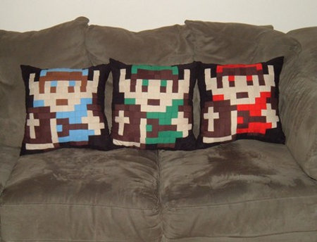 Pillows Amp Bed Sheets Inspired By Snes Games Mario Kirby