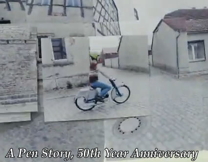 a-pen-story-stop-motion-movie-50th-year-anniversary-camera-comercial-add