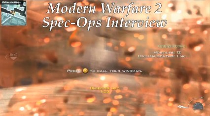 modern warfare 2 spec-ops co-op gameplay interview trailer call of duty