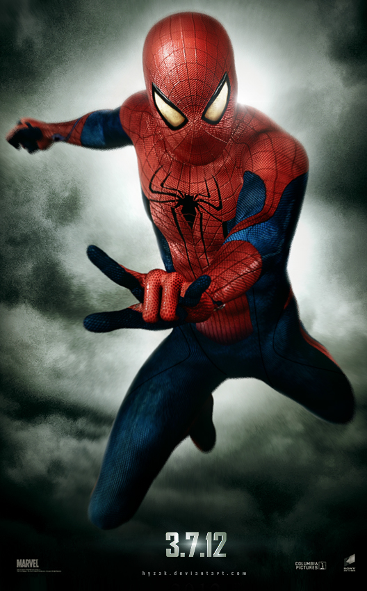 Spiderman 2012 Teaser Poster By Jaime Issachar Hyzak Fan Made Of Awesome