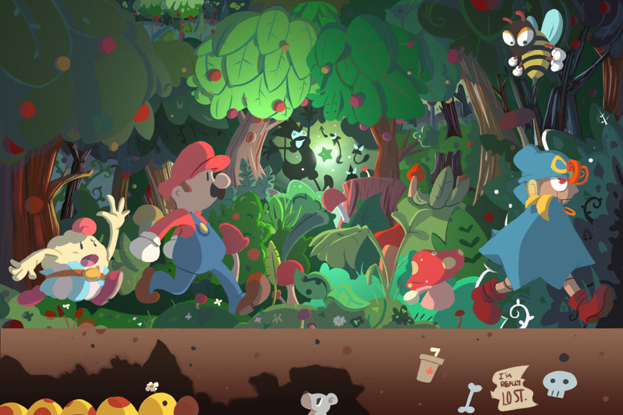 Follow Geno's Route Here by Loopy-Lupe! Super Mario RPG: Legend of