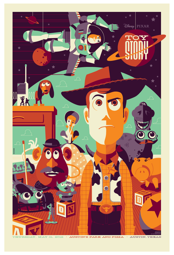 Toy Story Strong : Movies cartoon posters by strongstuff featuring charlie