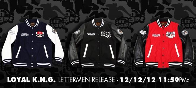 LoyalKNG Winter 2012 Lettermen releasedate