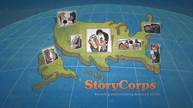 Listening Is an Act of Love, Animated Film from StoryCorps.