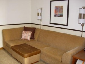 Hyatt Place Hotel Fremont California couch