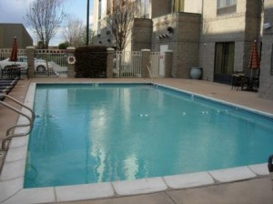 Hyatt Place pool, Fremont, California