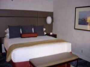 Hyatt Regency San Francisco bed