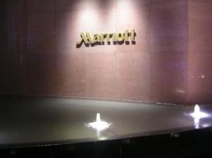 Marriott Singapore sign