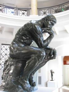 The Thinker, Rodin, Stanford University