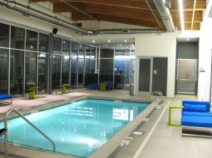 aloft Portland pool