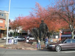 Lenin Statue, Fremont District, Seattle