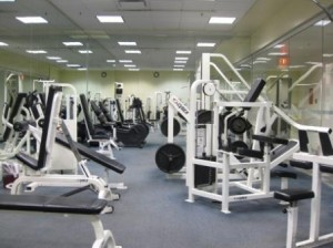 Vancouver Sheraton Wall Centre workout room