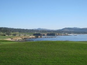 Pebble Beach Golf Course 18th green
