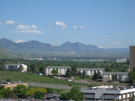 Sheraton Denver West mountains view