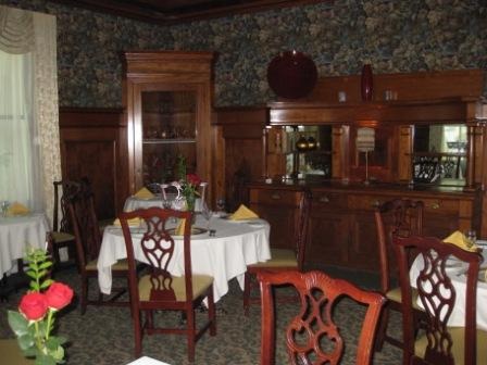 Hayes Mansion Dining Room