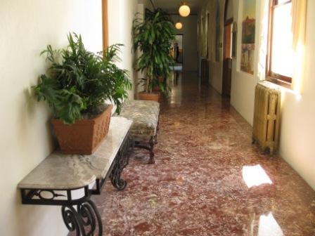 Hayes Mansion marble floor loggia