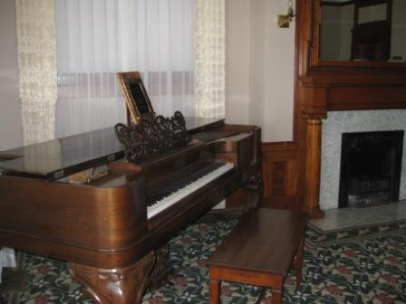 Hayes Mansion piano room