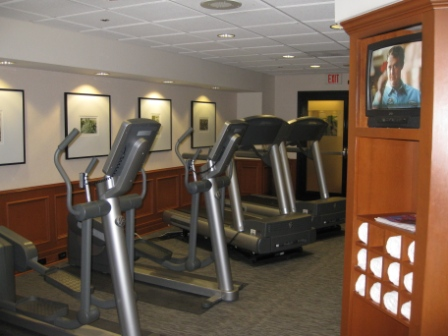 Le Meridien San Francisco fitness room