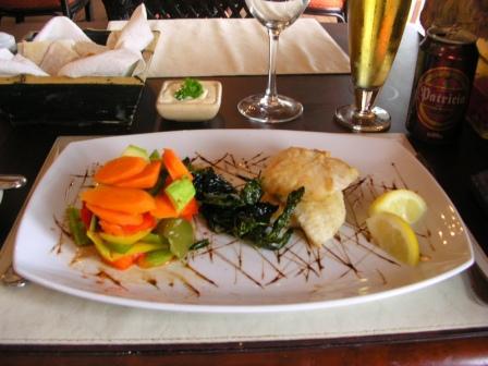Sheraton Colonia fish entree