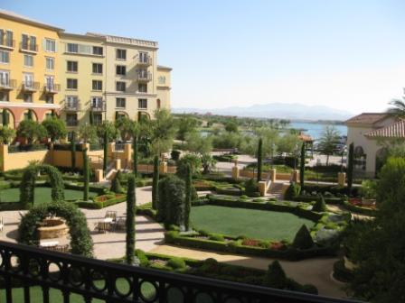 Ritz-Carlton Lake Las Vegas lake view