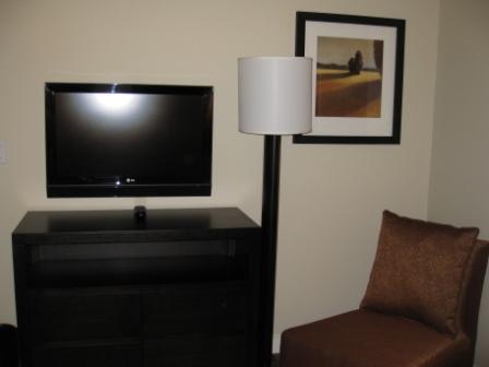 Westin Verasa Napa bedroom TV and chair